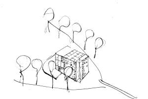 axonometric sketch 2